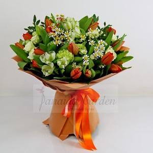 "Букет цветов ""Весенний бриз"""