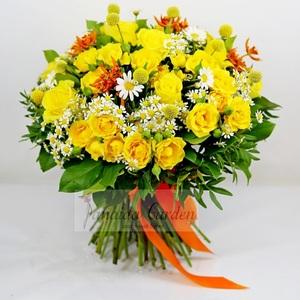 "Букет цветов ""Yellow"""