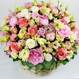 """Букет """"Нежность"""" цветы в корзине"""