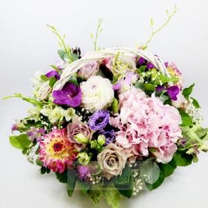 """Букет """"Глория"""" цветы в корзине"""