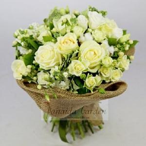 Букет цветов «Вайт»