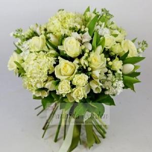 Букет цветов «Первый снег»