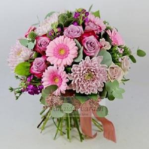 Букет цветов «Сиреневый зной»