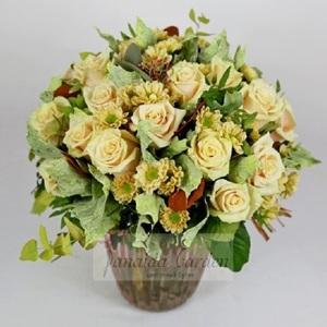 Букет цветов «Молочные реки»