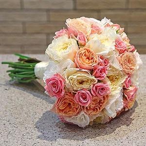 """Свадебный букет """"Розалия"""" для невесты"""