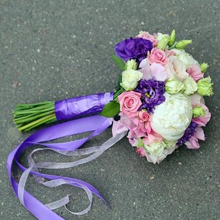 """Свадебный букет """"Лина"""" для невесты"""