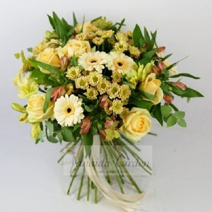 Букет цветов «Акварель»
