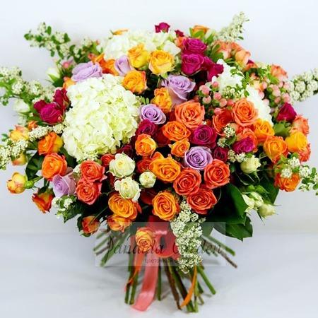 """Букет цветов """"Итальянские мотивы"""""""